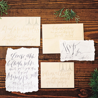 Whimsical Woodsy Invitation Suite