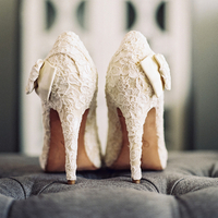 Lace Bridal Pumps