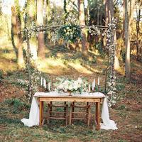 Rustic Elegant Sweetheart Table
