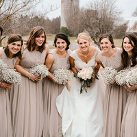 Rebecca and her Bridesmaids