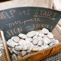 Stone Guest Book