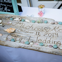Beachy Welcome Table