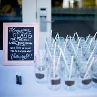 Mason Jar Drink Display