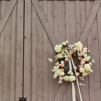 Elegant Barn Door Wreaths