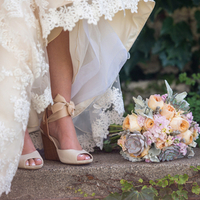 Kate's Shoes and Bouquet