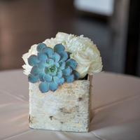 Birch Square Centerpiece