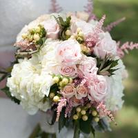 Chelsea's Bride Bouquet