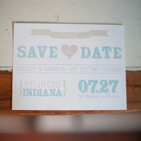 Pastel Save the Date