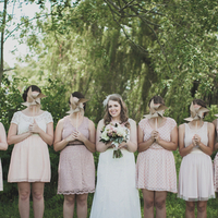 Chelsea and her Bridesmaids