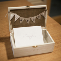 Cute Rustic Card Box