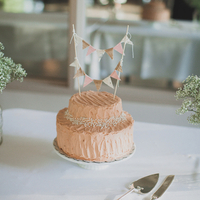 Mini Bunted Wedding Cake