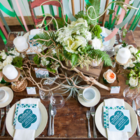Modern Eco-Friendly Tablescape