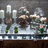 Vintage Dessert Display