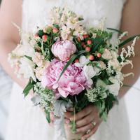Elisha's Bridal Bouquet