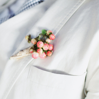 Justin's Boutonniere