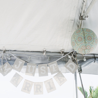 Beach Wedding Tent Decor