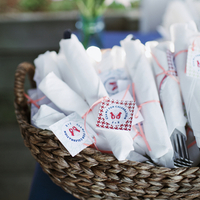 Nautical Wedding Napkins