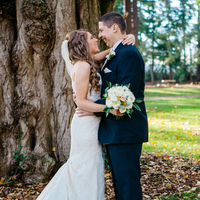 Sunny Winter Wedding Photos