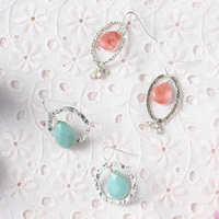 DIY: Something Blue Drop Earrings
