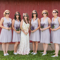 Tiff and her Bridesmaids