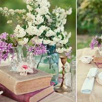 book centerpieces
