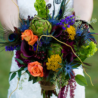 Meredith's Bridal Bouquet
