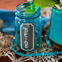 Eco-Friendly Mason Jar Cups