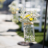 Rustic Garden Aisle Markers
