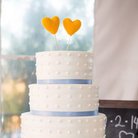 Dash and Drew's Wedding Cake
