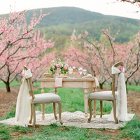 Cherry Blossom Sweetheart Table