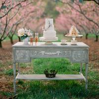 Shabby Chic Spring Dessert Bar