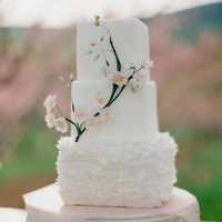 Spring Blossom Wedding Cake