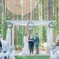 Pergola Altar in the Woods