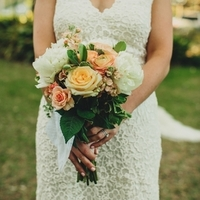 Heather's Bridal Bouquet