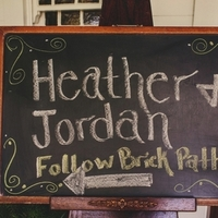 Heather & Jordan's Wedding Sign