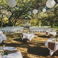 Spring Restaurant Wedding Setup