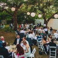Outdoor Reception in Texas