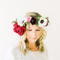 DIY: Romantic Flower Crown