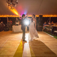 Robin and Arthur's First Dance