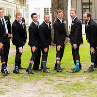 Travis and his Groomsmen