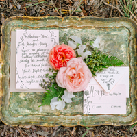Whimsical Romantic Invitation Suite