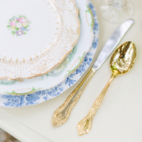 Ornate Gold Flatware
