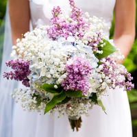 Hilary's Bridal Bouquet