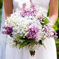 Hilary's Bridal Bouquet