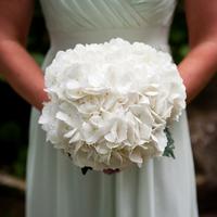 Hydrangea Bridesmaid Bouquets