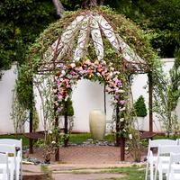 Romantic Garden Altar