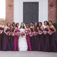 Lauren and her Bridesmaids