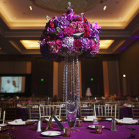 Glam Purple Centerpiece