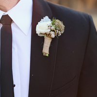 Wes' Boutonniere