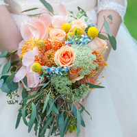 Elizabeth's Bridal Bouquet